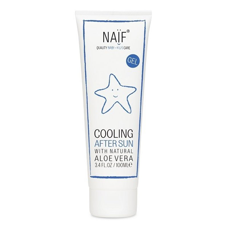 After Sun Natural para Maternidad y crianzas y familia NAÏF100ml