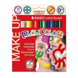 Imagén: Maquillaje Playcolor Pocket 6 colores Basic