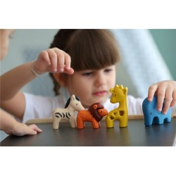 Imagén: Set Animales Salvajes Plantoys